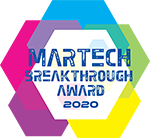 MarTech Breakthrough Awards 2020 Winner